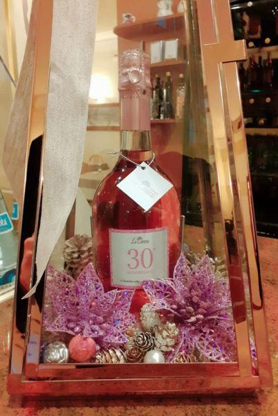 """Bottiglia dei 30 anni dell'Osteria La Caneva"""""""